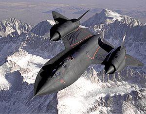 SR 71 jet