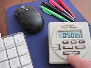 Time management top tip