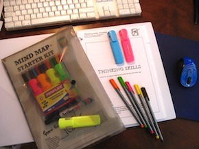 Picture of Thinking Skills mind map starter kit and workbook